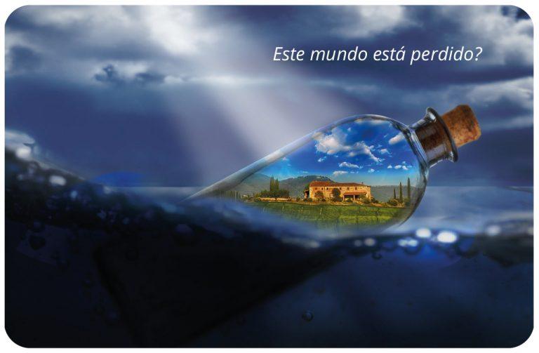 Este mundo esta perdido - cartão pessoal do Pedro Silva-Santos