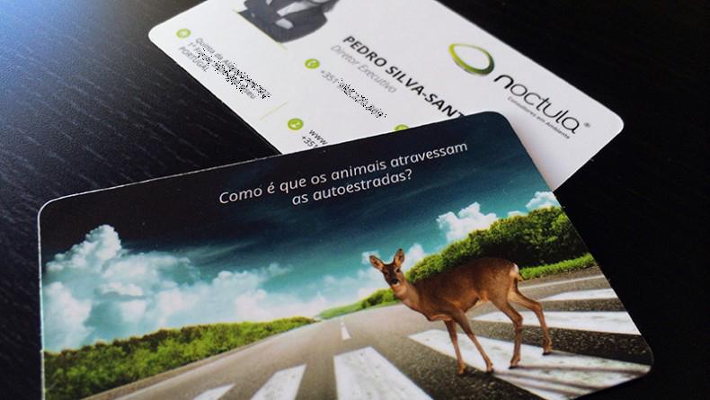cartoões pessoais criativos - Pedro Silva-Santos