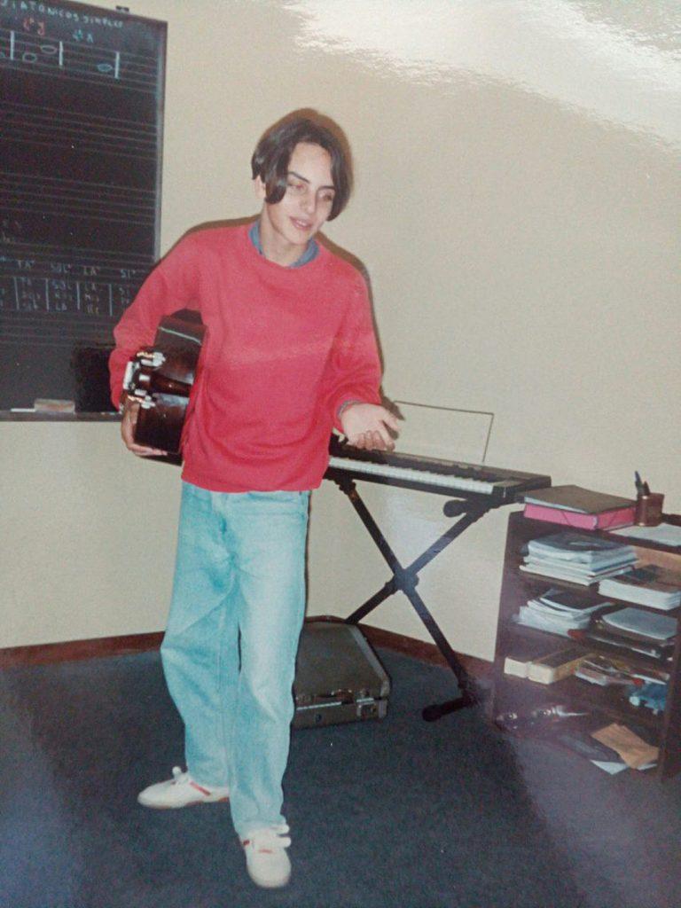 Pedro Silva-Santos - aos 15 anos