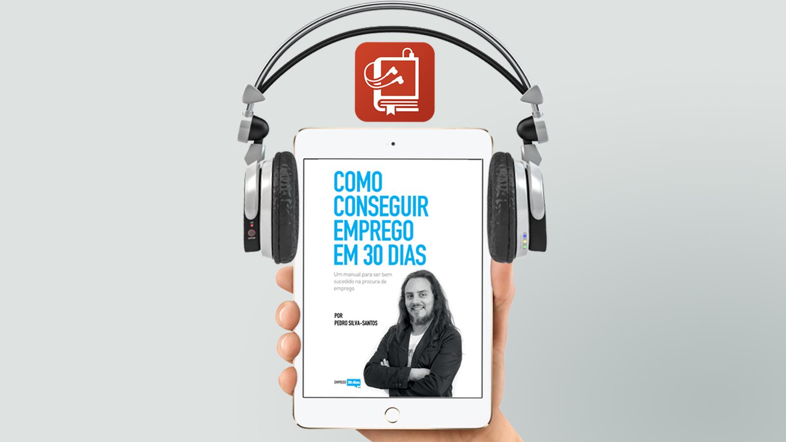 audio livro Como conseguir emprego em 30 dias - destaque