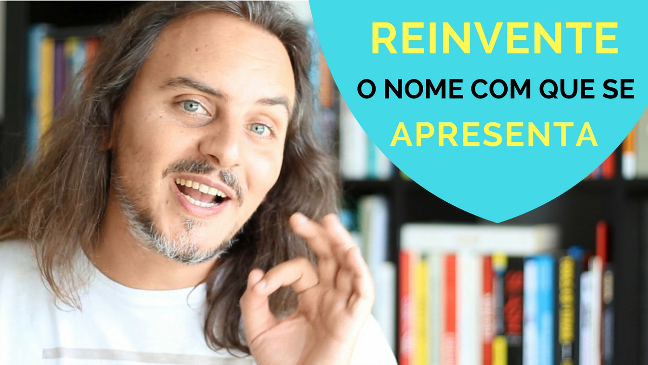 reinvente o nome com que se apresenta - Pedro Silva-Santos