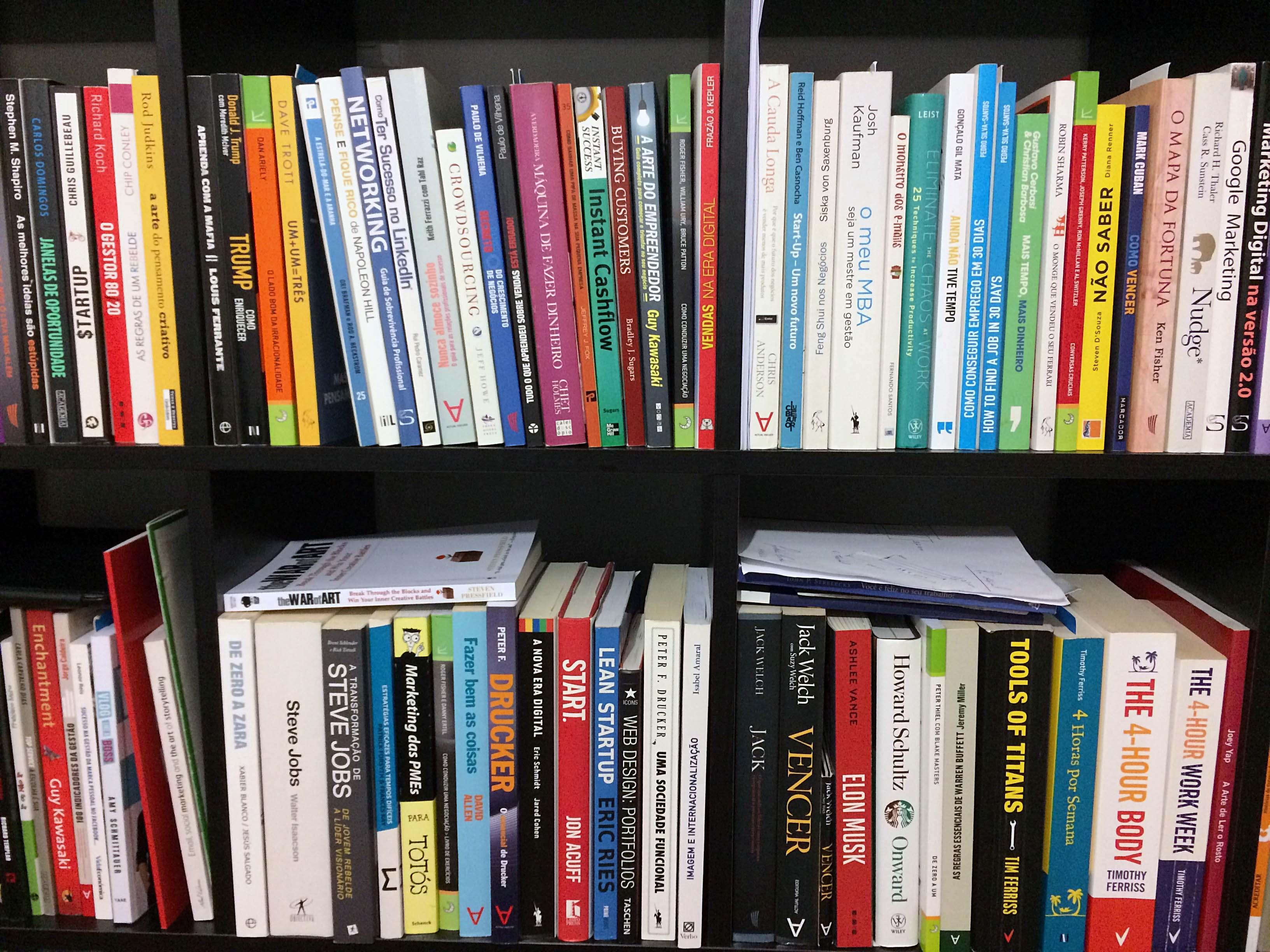 Lista de livros ordenada por Pedro Silva-Santos